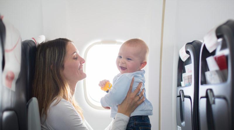 Fliegen mit Babys