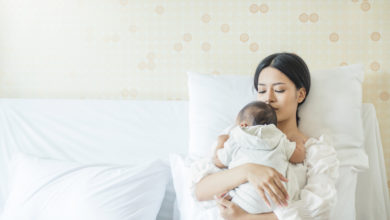 Photo of Vor der Geburt ist nach der Geburt: Das Schlafzimmer für die junge Familie einrichten