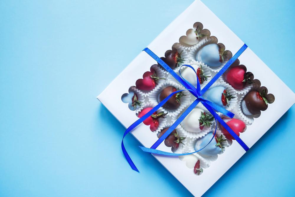 schokolade als geschenk